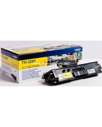 Brother Toner TN-329Y - 6.000 Seiten Yellow