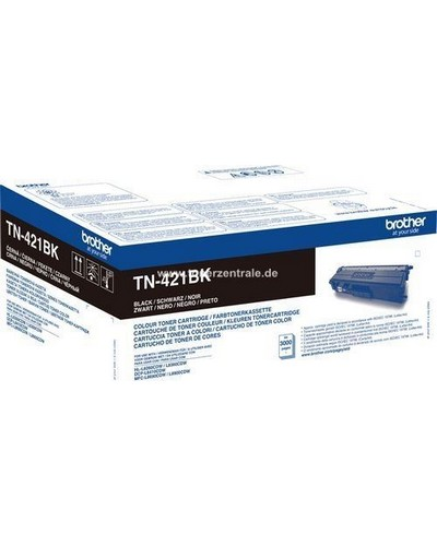 Brother DCPL8410, MFCL8690 - Toner TN421B - 3.000 Seiten Schwarz