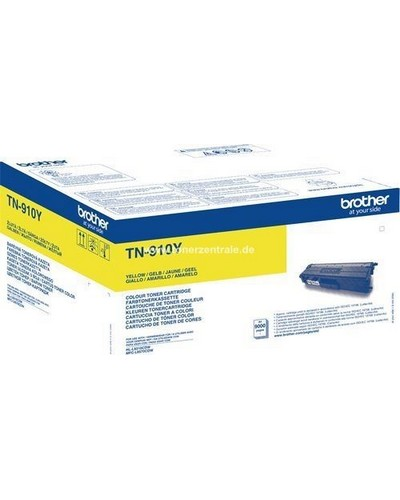 Brother Toner TN910Y Ultra-Jumbo - 9.000 Seiten Yellow