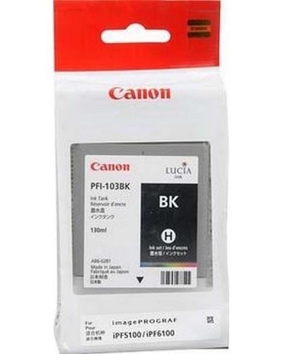 Canon IPF 5100, 6100, 6200 - PFI103BK Druckerpatrone - 130ml Schwarz