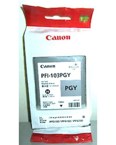 Canon IPF 5100, 6100, 6200 - PFI103PGY Druckerpatrone - 130ml Photo Grau