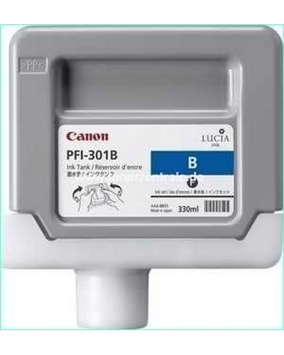 Canon IPF 8000, 9000 - PFI301B Druckerpatrone - 330ml Blau
