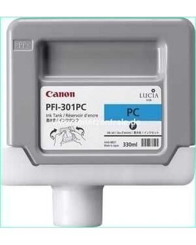 Canon IPF 8000, 9000 - PFI301PC Druckerpatrone - 330ml Cyan-Photo