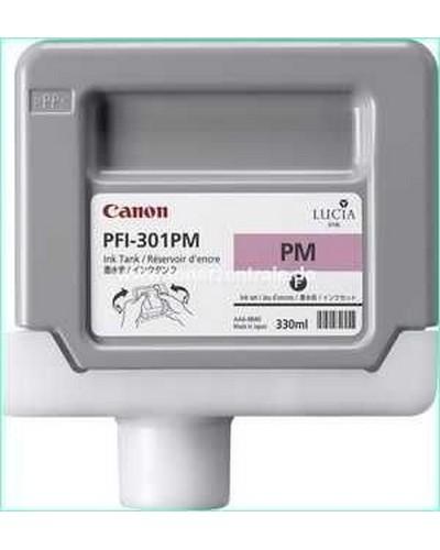 Canon IPF 8000, 9000 - PFI301PM Druckerpatrone - 330ml Magenta-Photo