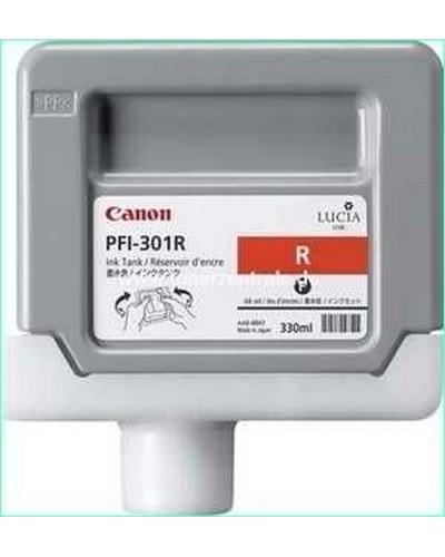 Canon IPF 8000, 9000 - PFI301R Druckerpatrone - 330ml Rot
