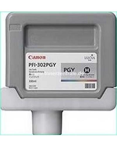 Canon IPF 8000 - Druckerpatrone PFI302PGY 330ml Grau Photo