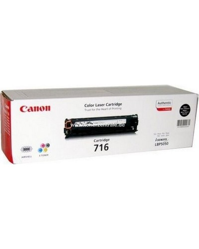 Canon I-SENSYS LBP5050 - Toner CART716BK 1980B002 - 2.300 Seiten Schwarz