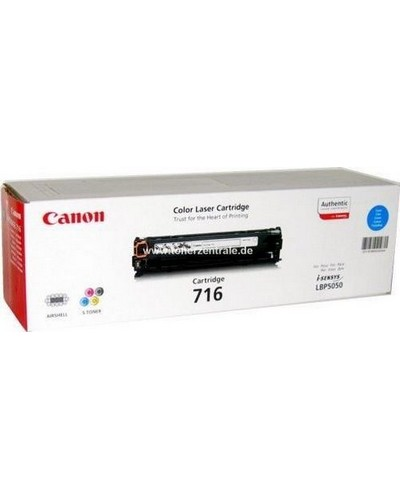 Canon I-SENSYS MF 8030 - Toner CART716CY 1979B002 - 1.500 Seiten Cyan