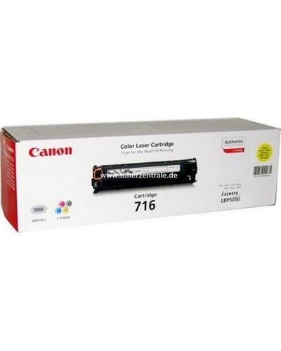Canon I-SENSYS MF 8080 - Toner CART716YE 1977B002 - 1.500 Seiten Yellow