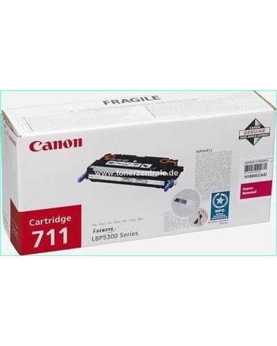 CANON MF-9220 - Toner 711MA - 6.000 Seiten Magenta