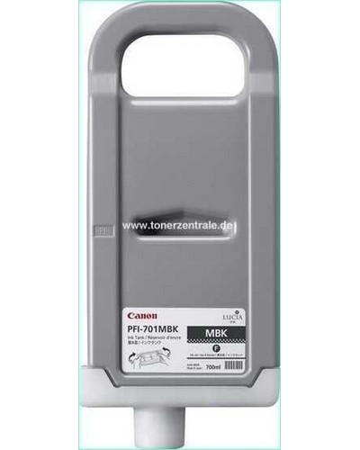 Canon IPF8000, 9000 - PFI701MBK Druckerpatrone - 700ml Schwarz Matt