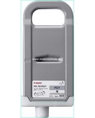 Canon IPF8000, 9000 - PFI701PGY Druckerpatrone - 700ml Photo Grau