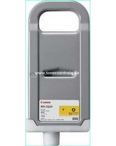 Canon IPF 8xx - Druckerpatrone PFI703Y - 700ml Yellow