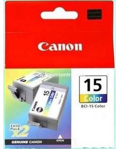 BCI15C - 2 x Color Druckkopf Canon i70, 80 u.a.