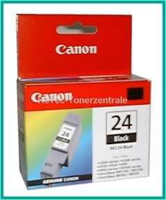 BCI24BK - 1 x Schwarz Druckkopf Canon S-200-300 font color=orangeACHTUNG! Artikel eingestellt. Mögliche Alternativen bitte anfragen!/font
