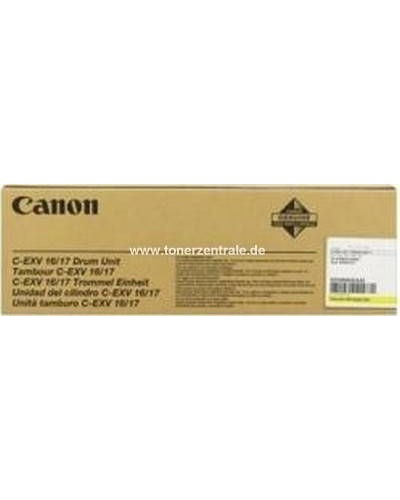 Canon IR C5185 - CEXV16Y-17 Trommeleinheit Gelb 60.0000 Seiten