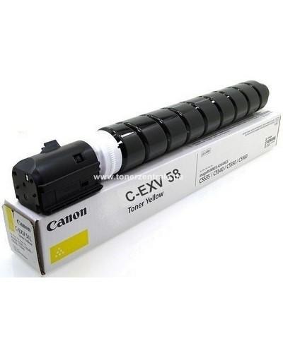 Canon CEXV58LY Toner 3769C002 26.0K Gelb