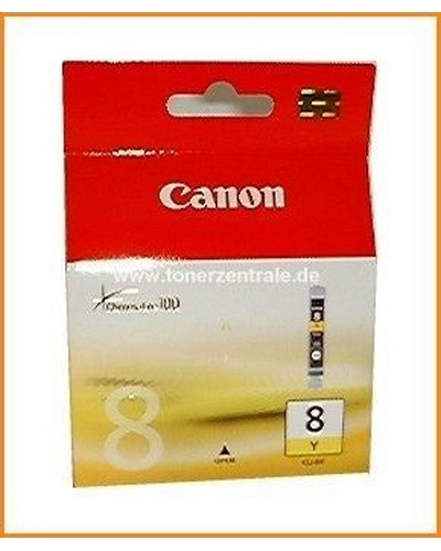Canon CLI-8Y Inkcatridge Yellow