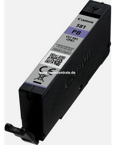 Canon Pixma TS8150 Druckerpatrone CLI581PB Blau 1.660 Seiten