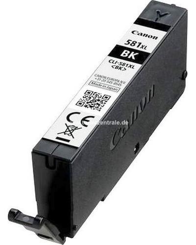 Canon Druckerpatrone CLI581BK XL - 8.3ml Schwarz