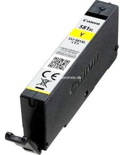 Canon Druckerpatrone CLI581Y XL - 8.3ml Gelb