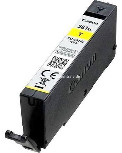 Canon Druckerpatrone CLI581Y XXL - 11.7ml Gelb