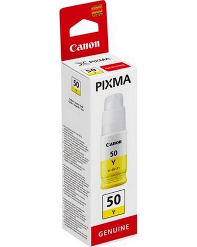 Canon Druckkopfpatrone GI-50Y 7.700S. 70ml Gelb