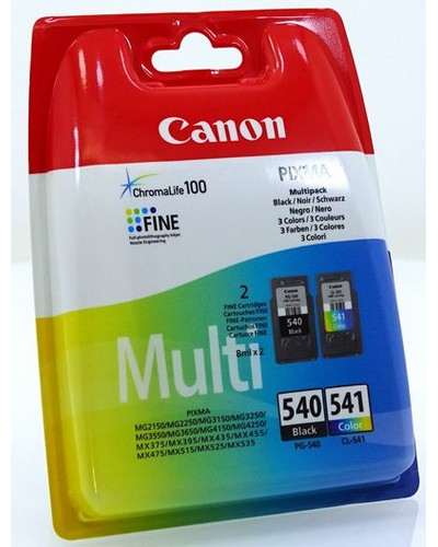 CANON MG 2140 - Multipack CL541 PG540 - Schwarz, Color