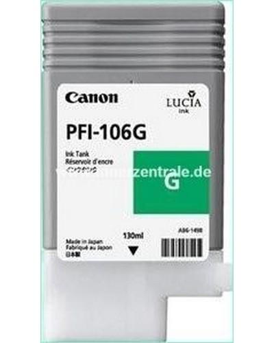 Canon IPF 6300, 6400 - PFI106G PFI105G Druckerpatrone - 130ml Grün