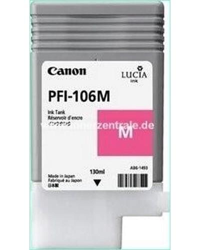 Canon IPF 6300, 6400 - PFI106M PFI105M Druckerpatrone - 130ml Magenta