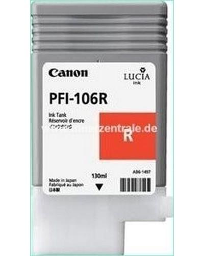 Canon IPF 6300, 6400 - PFI106R PFI105R Druckerpatrone - 130ml Rot