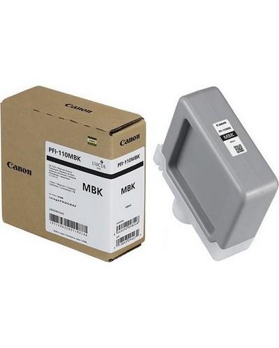 Canon Druckerpatrone PFI110MBK Schwarz Matt 110 ml