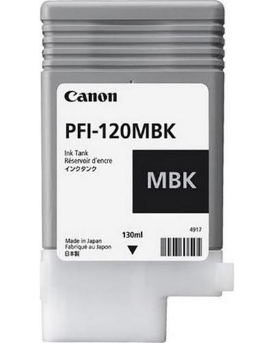 Canon Druckerpatrone PFI120MBK Schwarz Matt 130 ml