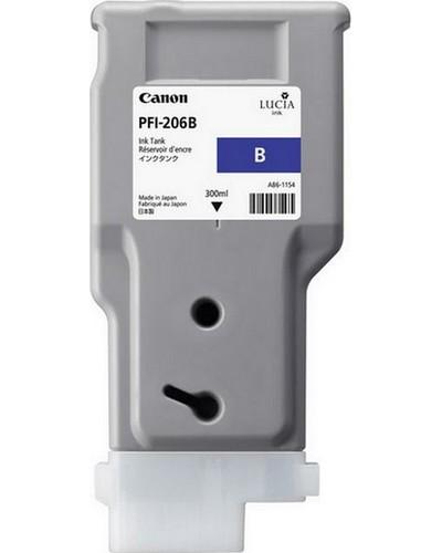 Canon IPF 6400, 6450 - PFI206B Druckerpatrone - 300ml Blau