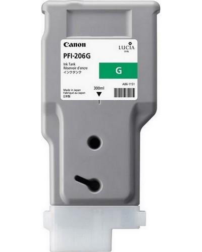Canon IPF 6400, 6450 - PFI206G Druckerpatrone - 300ml Grün