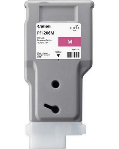 Canon IPF 6400, 6450 - PFI206M Druckerpatrone - 300ml Magenta