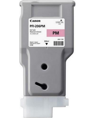 Canon IPF 6400, 6450 - PFI206PM Druckerpatrone - 300ml Magenta Hell