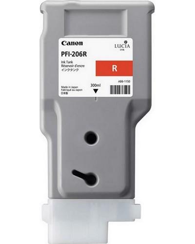 Canon IPF 6400, 6450 - PFI206R Druckerpatrone - 300ml Rot