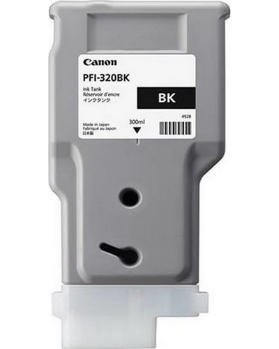Canon Druckerpatrone PFI320BK Schwarz 300 ml