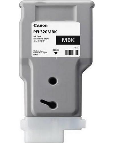 Canon Druckerpatrone PFI320MBK Schwarz Matt 300 ml