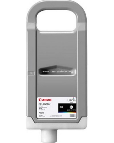 CANON IPF 830 - Druckerpatrone PFI707MBK - 700 ml Schwarz Matt