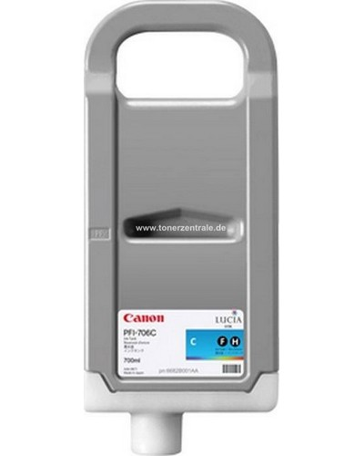 CANON IPF 830 - Druckerpatrone PFI707C - 700 ml Cyan