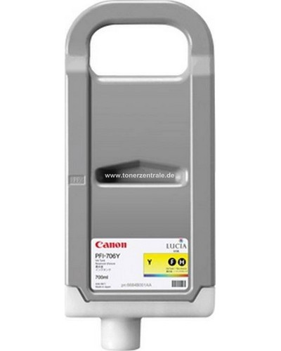 CANON IPF 830 - Druckerpatrone PFI707Y - 700 ml Yellow