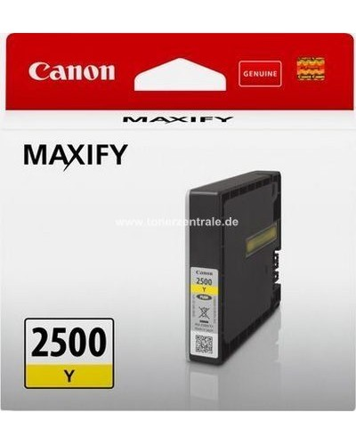 Canon Druckerpatrone PGI2500Y Yellow 9,6 ml