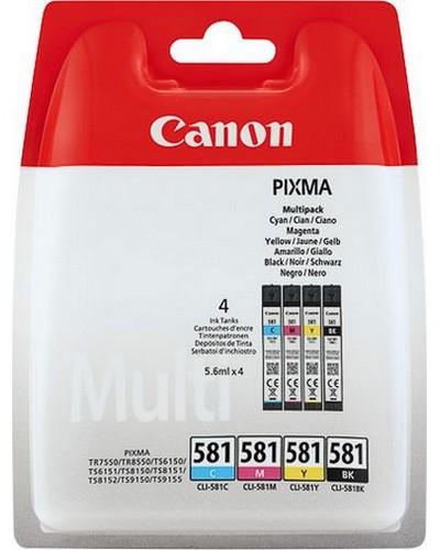 Canon MultiPack CLI581 Bk CY MA YE je 5,6ml