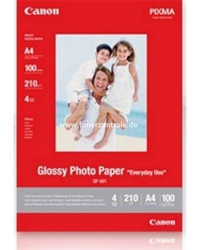 Canon Fotopapier GP501 Glossy - A4-210g-100 Blatt