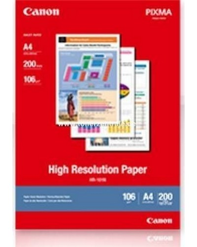 Canon Fotopapier HR101 High Resolution - A4-100g-200 Blatt
