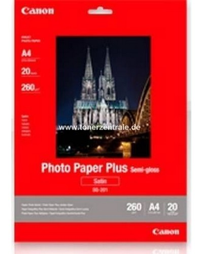 Canon Fotopapier SG201 Seidenglanz matt - 10x15cm-260g-50 Blatt