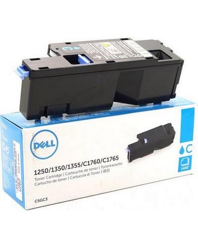 DELL 1350 - Toner 593-11141 79K5P C5GC3 - 1.400 Seiten Cyan