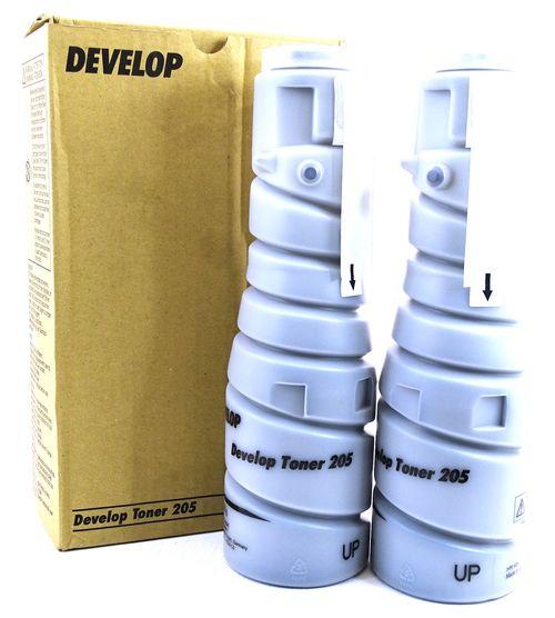 Develop D2550 - Toner 8937757 Type 205 - 14.000 Seiten Schwarz